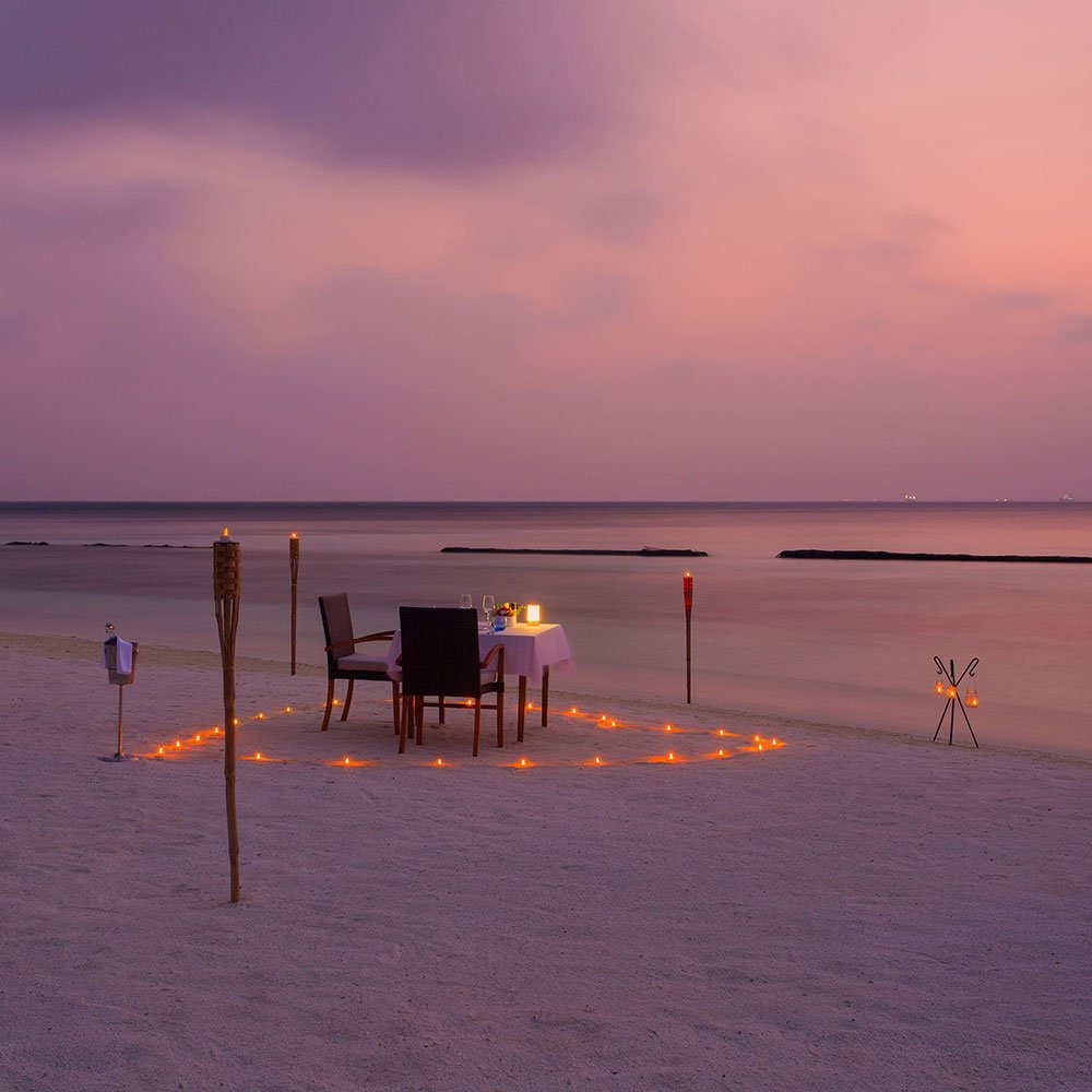 Komandoo Maldives Candlelight Dinner